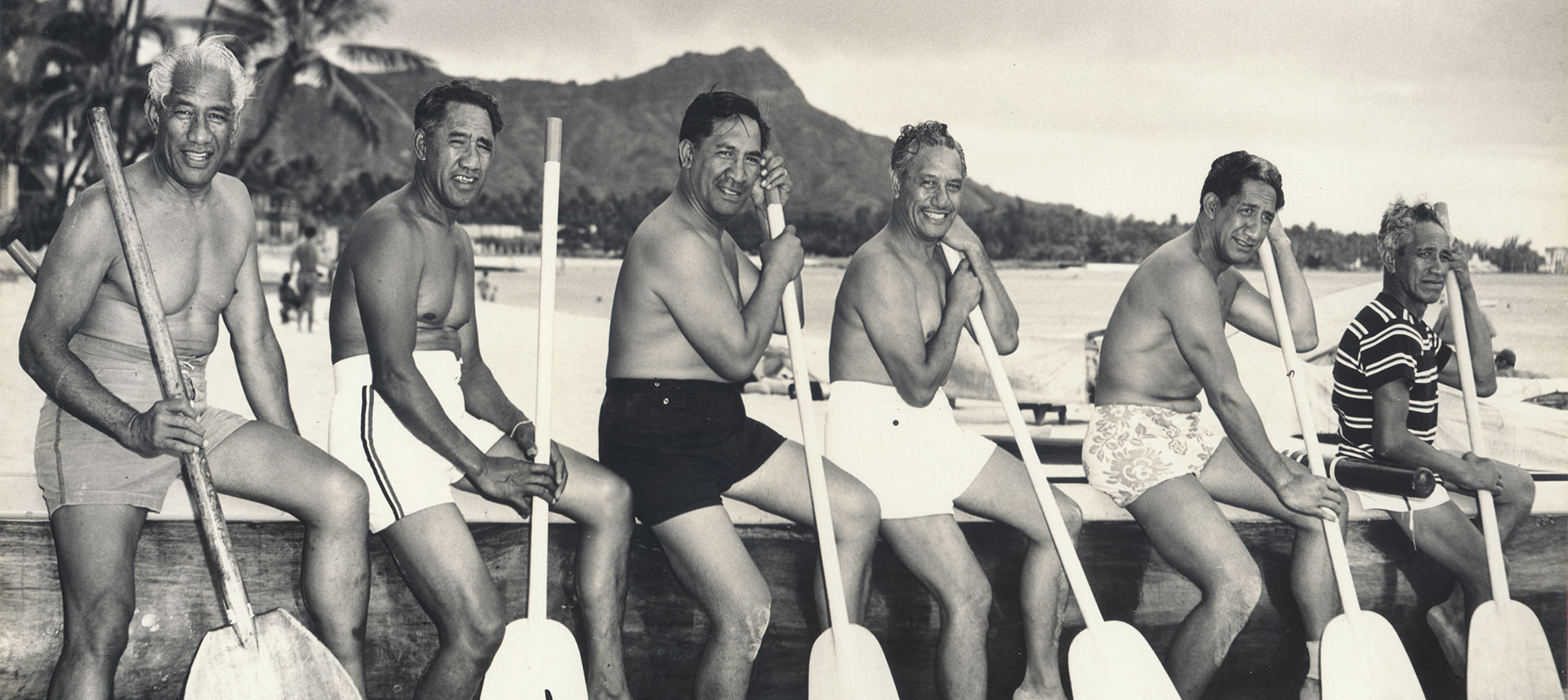 Duke Kahanamoku and friends