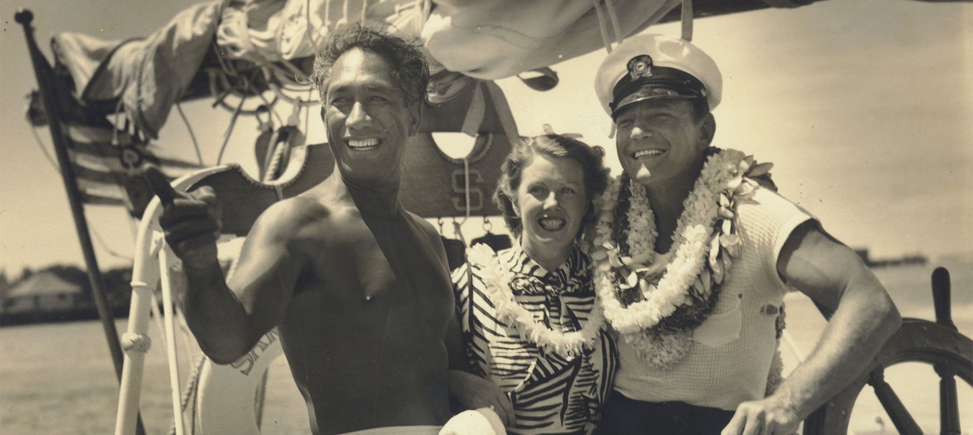 Duke Kahanamoku and 2 others